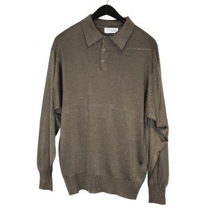 Tuttle Golf collection 100% pure silk camel tan